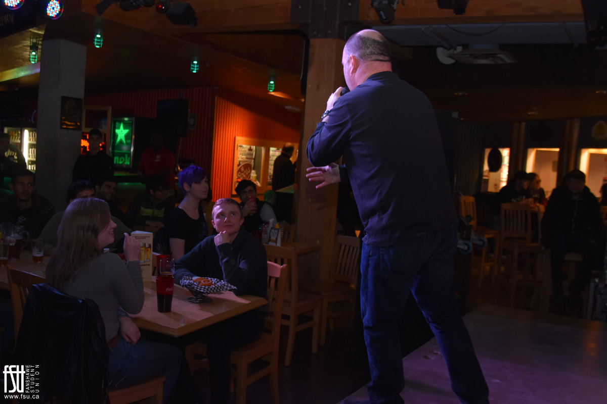 Comedy Night: Darren Frost and Kenny Robinson