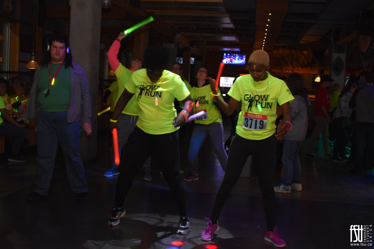 Glow Run and Glow Party