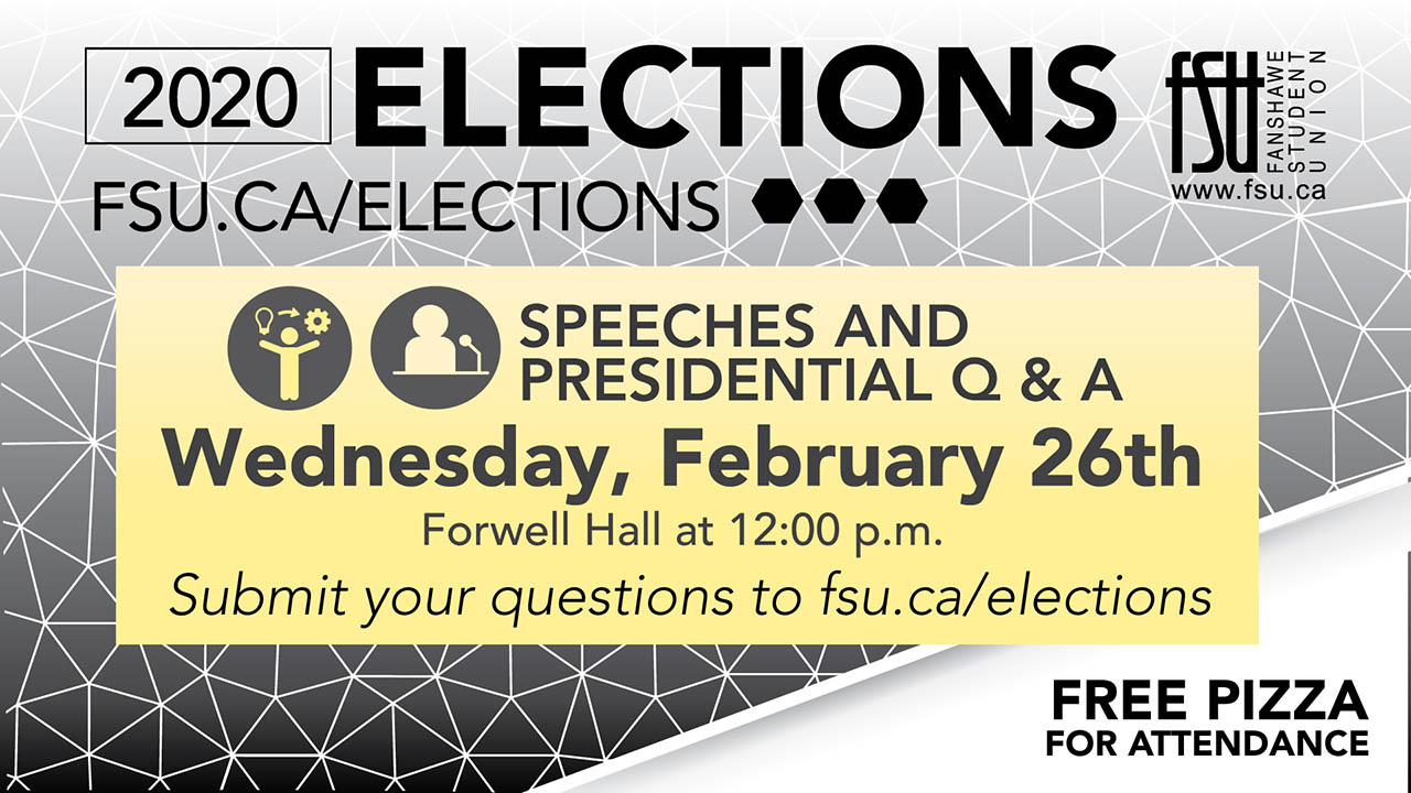 Submit a question to the candidates running in the 2020 FSU Presidential election
