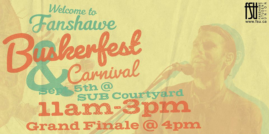 Buskerfest and Carnival Tuesday, September 5th, 2017					