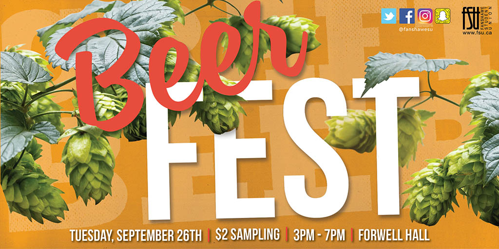FSU Craft Beer Fest Tuesday, September 26th, 2017					