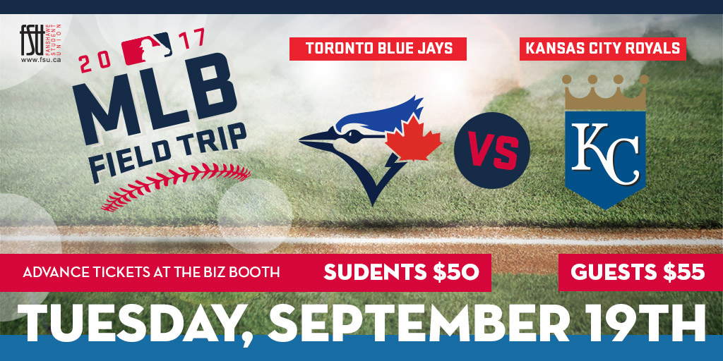 Blue Jays Trip Tuesday, September 19th, 2017					