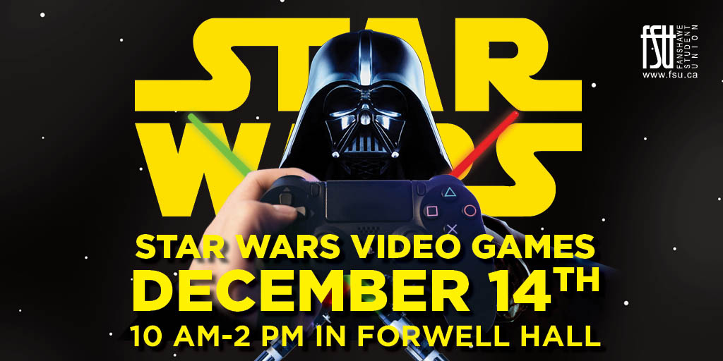 Star Wars Video Games Thursday, December 14th, 2017					