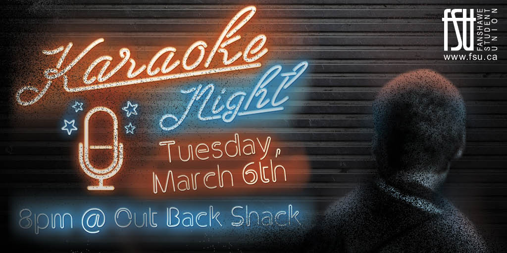 Karaoke Night Tuesday, March 6th, 2018					