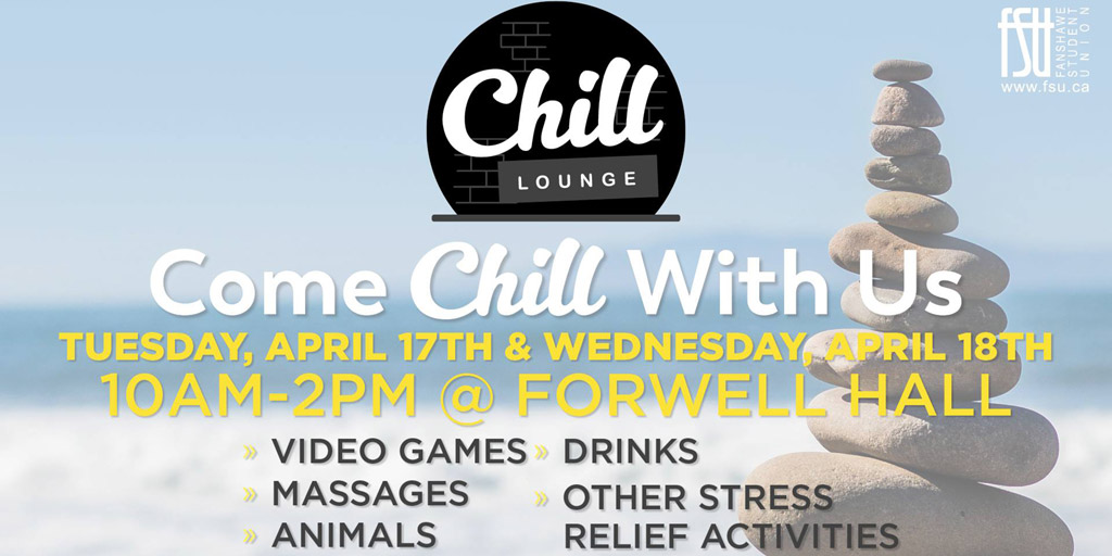 FSU Chill Lounge Day 2 Wednesday, April 18th, 2018					