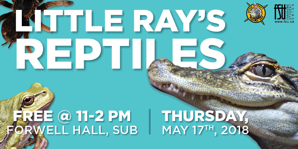 Little Ray's Reptiles Thursday, May 17th, 2018					