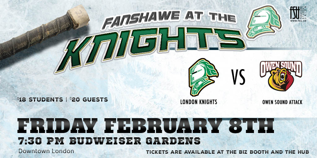 Fanshawe at the Knights: London vs. Owen Sound