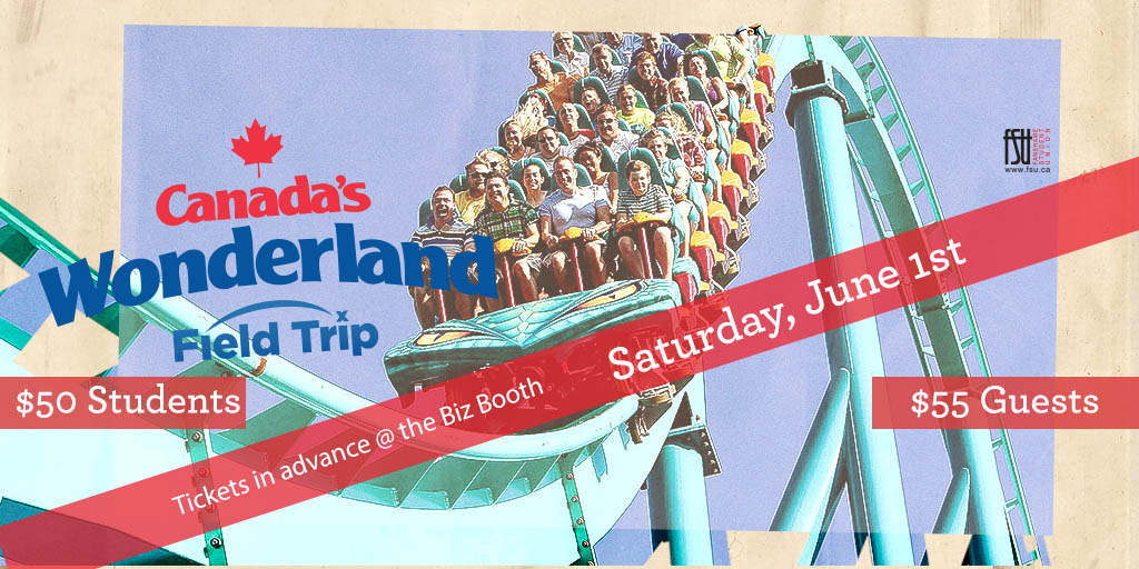 SOLD OUT: Canada's Wonderland Trip