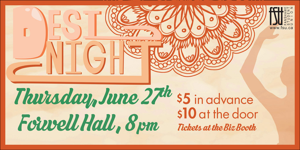 Desi Night. Thursday, June 27. Forwell Hall. 8 p.m.