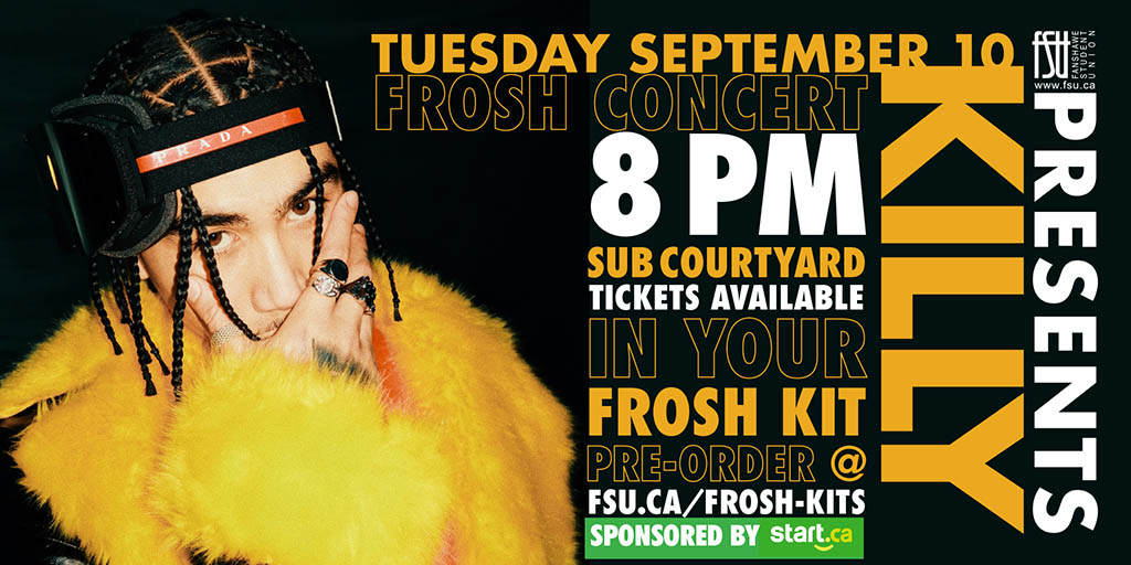 Frosh Concert featuring KILLY