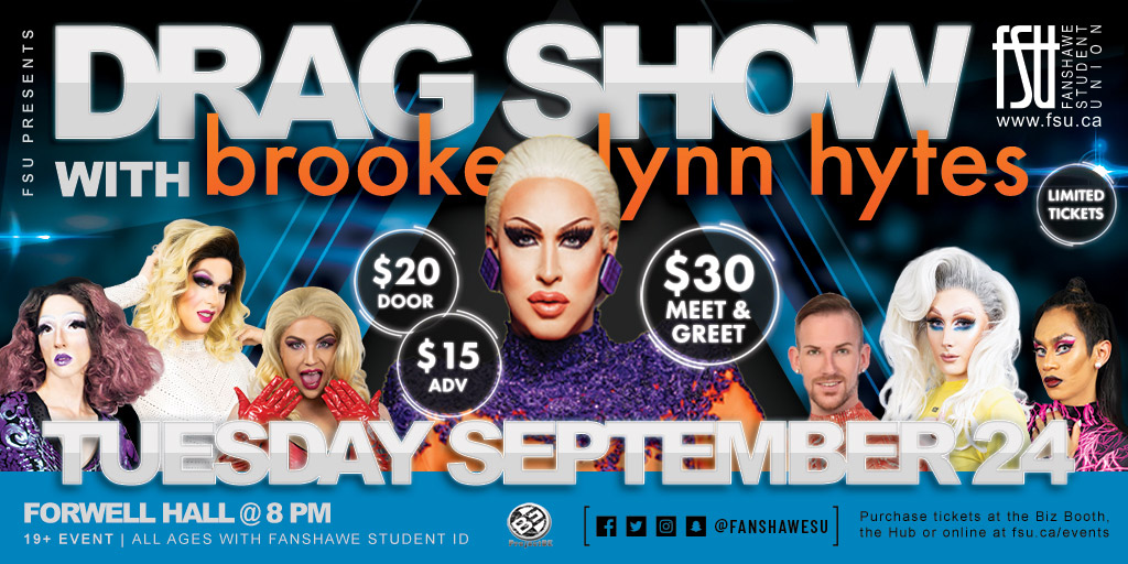 Drag Show with Brooke Lynn Hytes