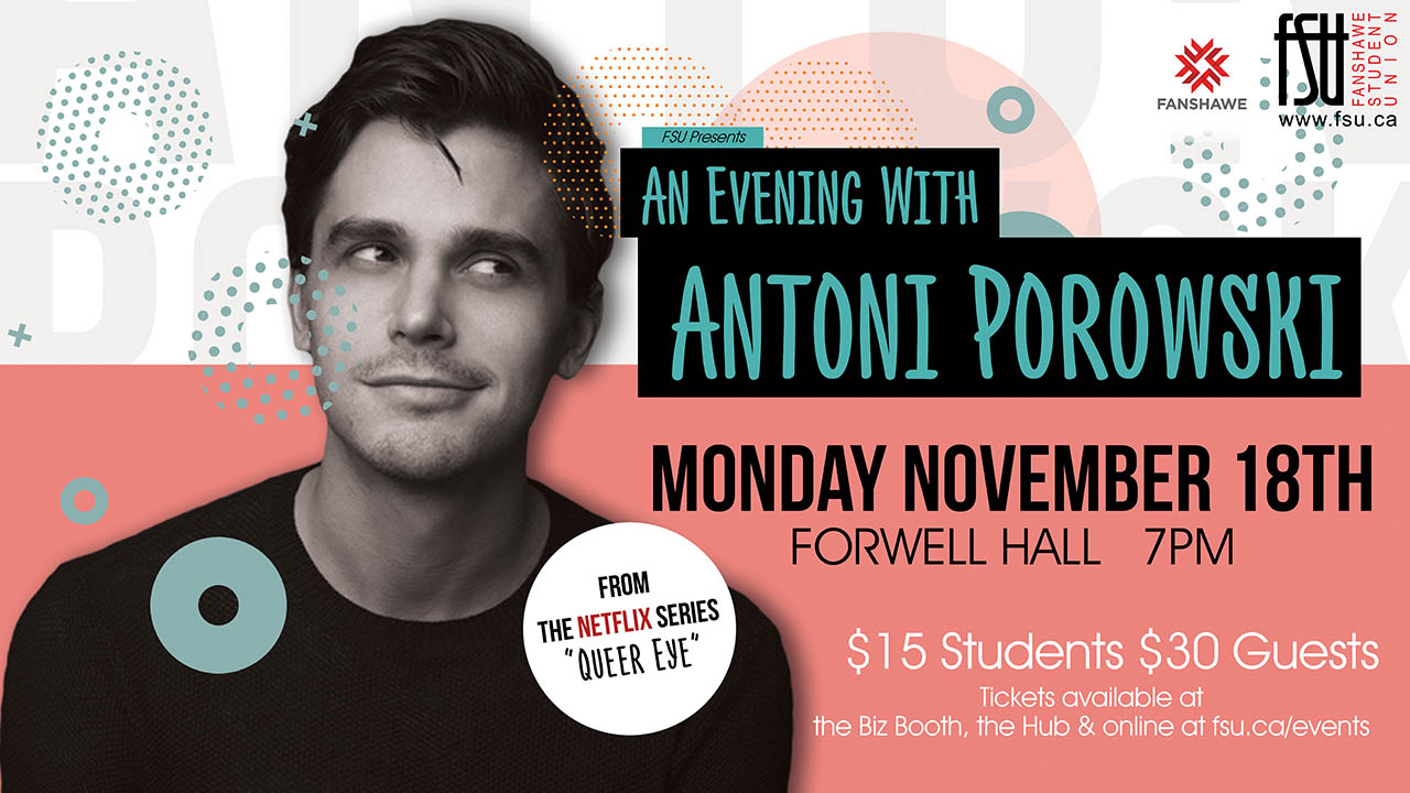An Evening with Antoni Porowski
