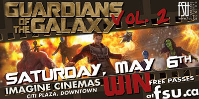 FSU @ The Movies: Guardians of the Galaxy Vol. 2 Saturday, May 6th, 2017>