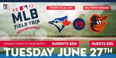 Major League Baseball Field Trip Tuesday, June 27th, 2017>