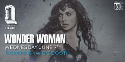 First Run Film: Wonder Woman Wednesday, June 7th, 2017 to Wednesday, June 7th, 2017 Imagine Cinemas (CITI Plaza) $4 for students/$6 for guests Open to everyone (ticket purchaser must be a Fanshawe student)