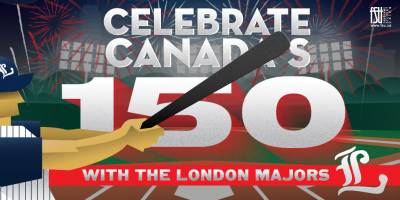 Canada Day Baseball Game and Fireworks Saturday, July 1st, 2017>