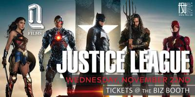 First Run Film: Justice League