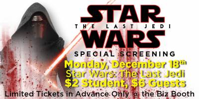 Star Wars: The Last Jedi Special Screening