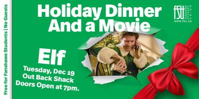 Free Holiday Dinner and a Movie