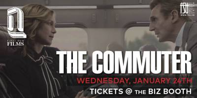 First Run Film: The Commuter Wednesday, January 24th, 2018 to Wednesday, January 24th, 2018 Imagine Cinemas (CITI Plaza) $4 for Fanshawe students/$6 for guests Open to everyone (ticket purchaser must be a Fanshawe student)
