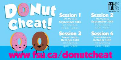 Donut Cheat: Academic IntegrityThursday, October 18th, 2018