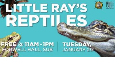 Little Ray's ReptilesTuesday, January 29th, 2019