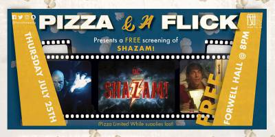 Pizza and a Flick: Shazam!