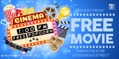 Free Movie and Popcorn (Downtown campus): Aladdin