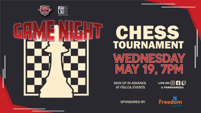 FSU Game Night: Chess Tournament