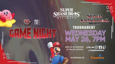 Game Night: Super Smash Bros. Tournaments