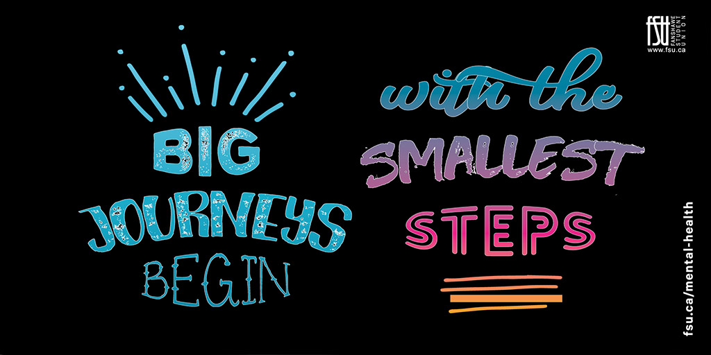 Big journeys begin with small steps.