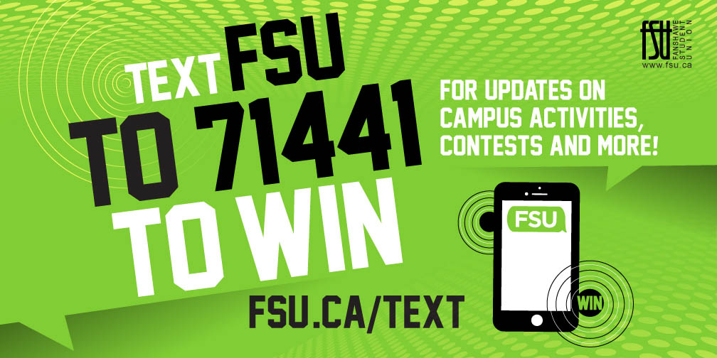 Text FSU to 71441 to win!