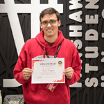 Eric Scarfone, September 2019 Red Squad Volunteer of the Month