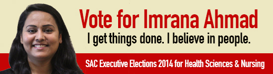 Vote for Imrana Ahmad